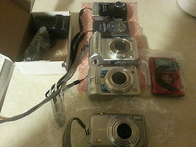 Digital Camera lot working lot of 6 cameras nice steal deal re sale