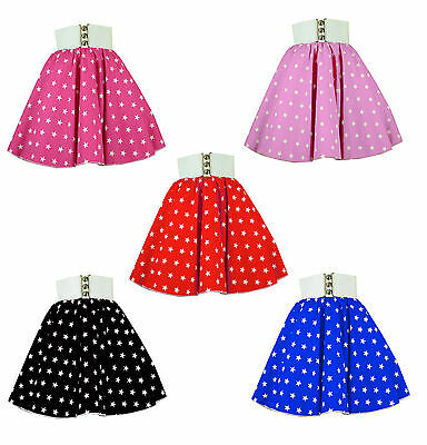 Girls Star Circle skirts Multi Coloured  Rock n roll, Dance, Party, Grease