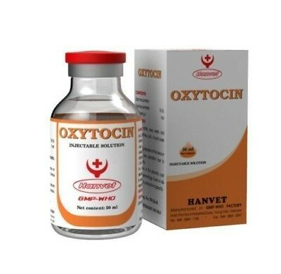 Oxytocin 20ml 10UI per Ml Cat Dog Cow Pig Goat Injection Farm Animals Free Ship