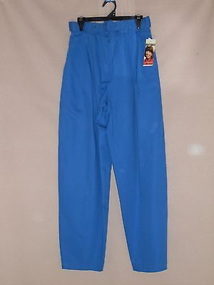 1980's Vintage High Waisted Pants with Tapered Legs & Belt - with Tags.