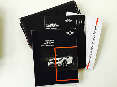Mini Countryman - Service Book Wallet & Handbook  Pack 2009 To 2014