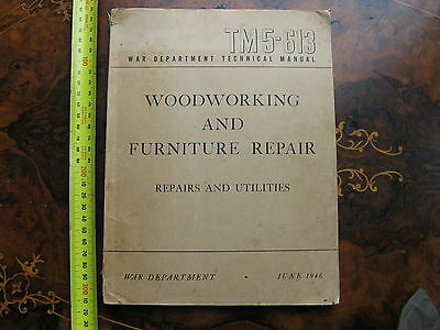 War Department Woodworking & Furniture Repair  1946