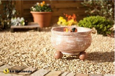 Outdoor Fire Pit Firepit Place Bowl Wood Burner Garden Patio Camping BBQ Heater