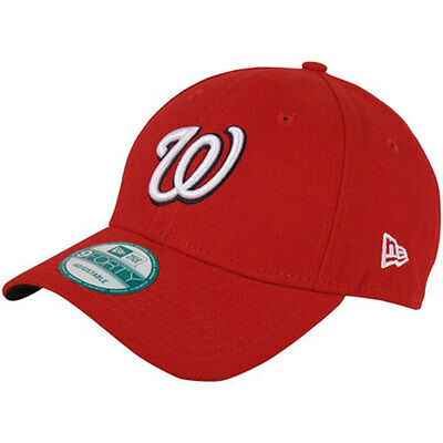 Washington Nationals MLB Adult 9FORTY New Era Adjustable Cap