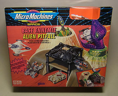 Vintage 90s Playset Spielwelt Micro Machines Space ALIEN PITFALL OVP 1993
