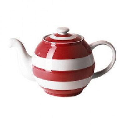 Cornish Red Small Betty Tea Pot by T.G.Green Cornishware