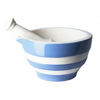 Cornish Blue Mortar & Pestle by T.G.Green Cornishware