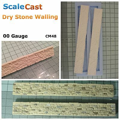 ScaleCast - Dry Stone Walling Mould - 00 Scale