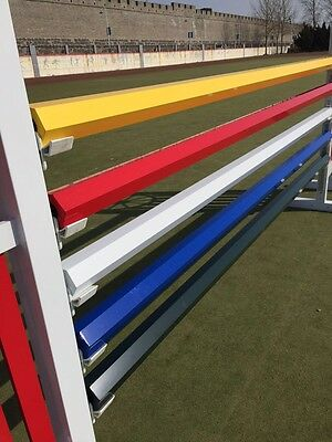 Job Lot 3 X Hexagonal show Jump Poles Made From ally And Built To Last