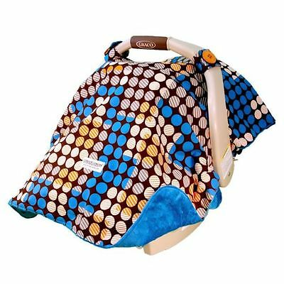 """New """"Aiden"""" Car Seat Canopy Cover Baby Infant Newborn"""