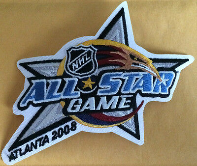 2008 NHL All Star Game Season Jersey Patch Atlanta Thrashers Year Hockey Patch