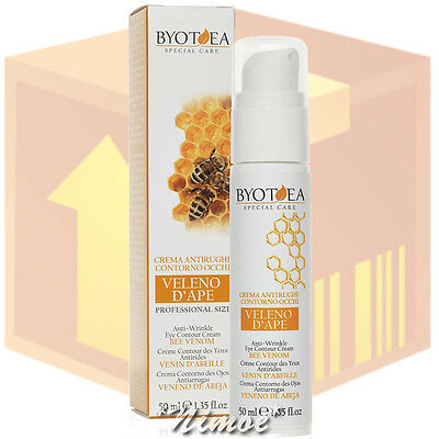 Anti-Wrinkle Eye Contour Cream Bee Venom box 8 pcs x 50ml Special Care Byotea ®