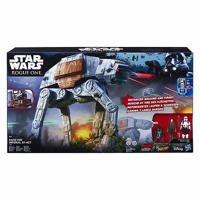 Hasbro Star Wars Rogue One Rapid Fire Imperial At-Act