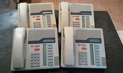 Lot of 4 Phones - Nortel M7208