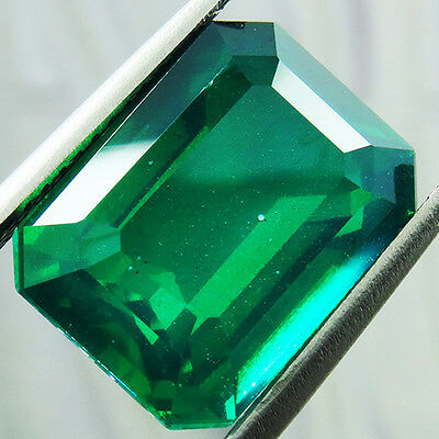 14.75 ct MARVELOUS COLOMBIAN GREEN DOUBLET LOOSE OCTAGON