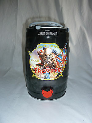 Robinsons Brewery Iron Maiden Trooper British English Small Beer Keg Rare Used
