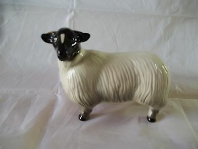 English Coopercraft   Manufactured  Pottery Figurine of a Sheep