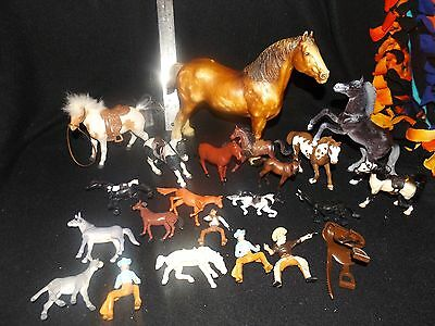 22 piece Horse lot mixed lot Breyer and others!
