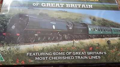 Cherished Preserved Railway Lines Of Great Britain 4 Dvd Set