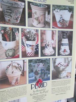 Flower Pot Parade Painting Book Smith-Burns Lighthouse/Frog/Eagle & US Flag/