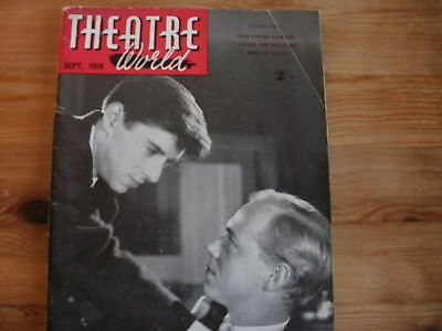 THEATRE WORLD Magazine dated September 1958