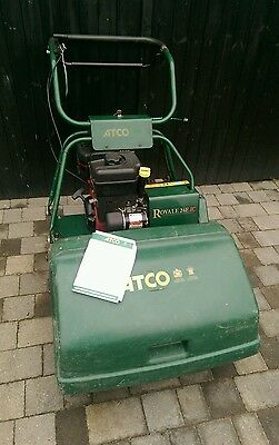 "Atco Royale 24"" lawnmower with grass box briggs and stratton 6.5hp"
