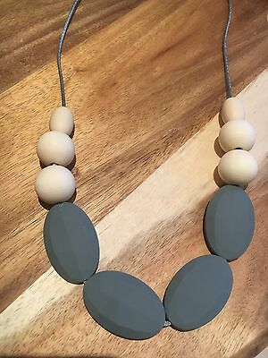 Silicone Sensory Baby (was teething) Necklace for Mum Jewellery Beads Aus Sell