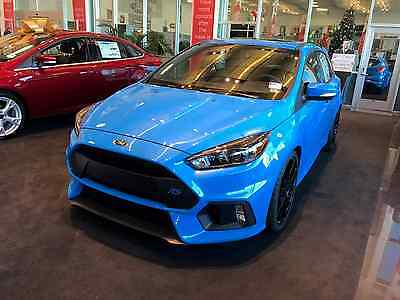 """2016 Ford Focus RS Hatchback 4-Door 2016 Ford Focus RS Nitrous Blue RS2 pack 19"""" wheels moon roof New"""