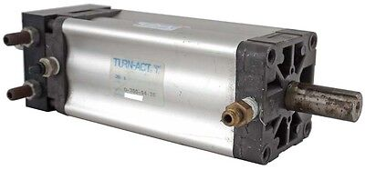 Turn-Act D-700-04-20 Industrial Air Pneumatic Cylinder Rotary Actuator Module