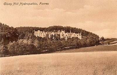FORRES Cluny Hill Hydropathic Moray Scotland old Valentine Postcard unused