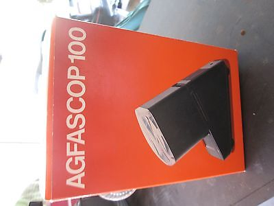 Agfa Agfascope Slide Viewer Photo View box vintage photograph agfascop 100