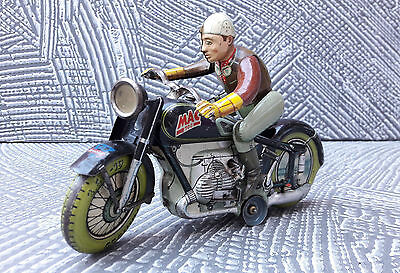 MOTORCYCLE ARNOLD MAC 700 Made In Germany 1950