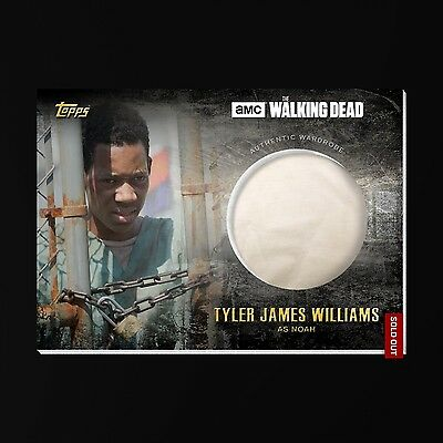 Topps Walking Dead Card Trader DIGITAL Noah Authentic Wardrobe Relic