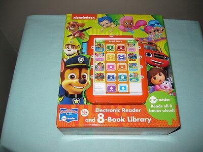 Me Reader Nickelodeon Electronic Reader And 8-Book Library -Learning-Birthday