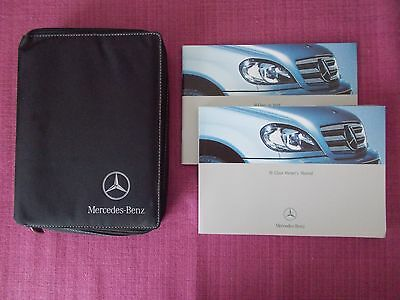 Mercedes-Benz M-Class (Ml) Owners Manual - Owners Guide - Handbook. (Acq 4996+)