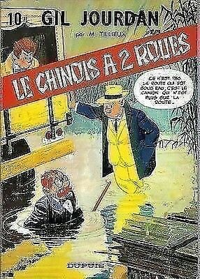 GIL JOURDAN No 10 LE CHINOIS A 2 ROUES  1ere EDITION