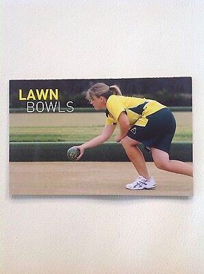 2012 - Austraia - Lawn Bowls Stamp Pack