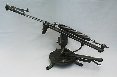 The Expert Eley Clay Pigeon Trap - Antique Vintage Cast Iron Machine Shooting