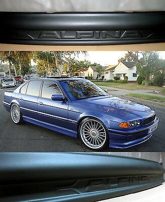 BMW 7 E38 95-01 Front Bumper Spoiler Splitter Valance ALPINA LOOK 3days delivery