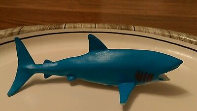 Fun Express brand great white shark figure Plastic Collectible Oceanic ocean sea