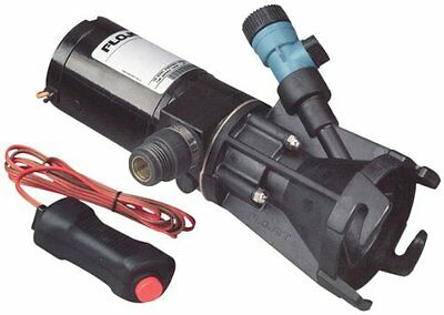 Flojet 18555-000A, Portable RV Waste Pump, 12 Volt DC, Macerator, Includes Case