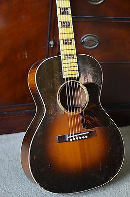 Vintage 1934 Gibson L-Century of Progress maple/spruce acoustic guitar L-00
