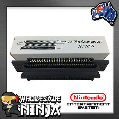72 PIN CONNECTOR REPLACEMENT for NES Nintendo Entertainment System BRAND NEW
