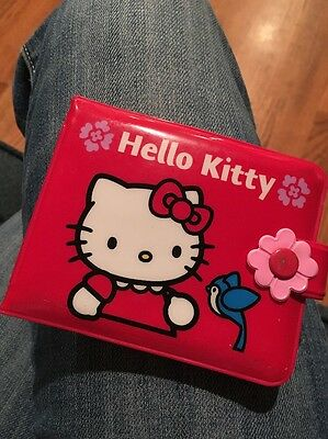 Vintage Hello Kitty Wallet Red 1976 2001