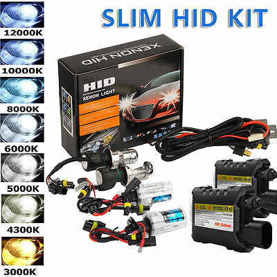 55W HID Xenon Headlight Conversion KIT H1 H3 H4 H7 H11 9005 9006 880/881 UTV ATV