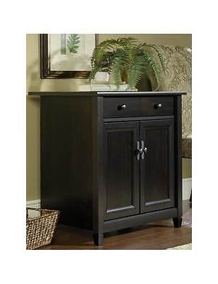 Edge Water Utility Stand in Estate Black Finish [ID 100799]