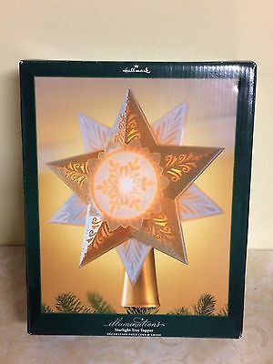 Hallmark Illuminations Starlight Tree Topper - Christmas Tree Topper Rare