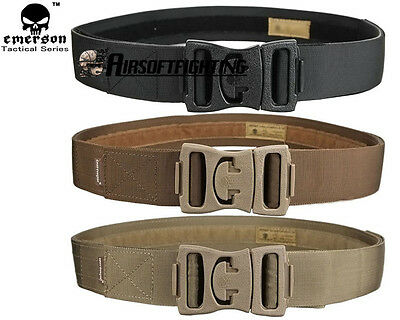 Emerson Tactical Competitive Outer Belt Waist Nylon Belt Combat Hunting S-L