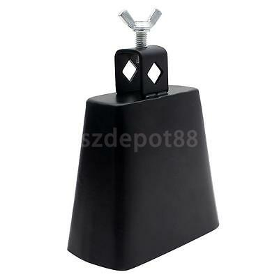4 inch DRUM KIT COWBELL Mountable Cow Bell Drums Percussion Heavy Duty Metal