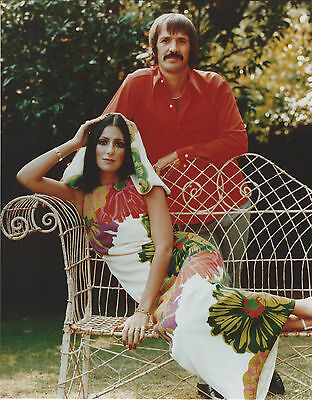 Sonny And Cher 8 X 10 Photo With Ultra Pro Toploader
